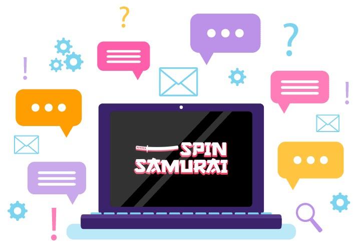 Spin Samurai - Support