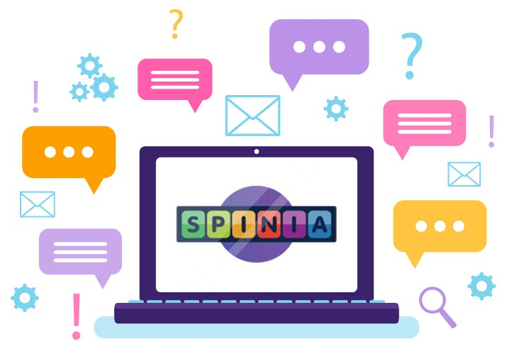 Spinia Casino - Support