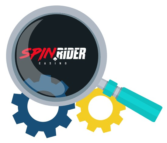 SpinRider Casino - Software