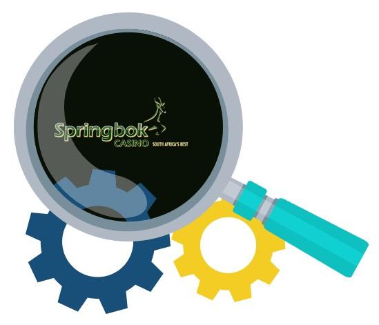 Springbok Casino - Software