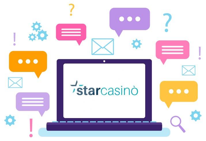 StarCasino - Support