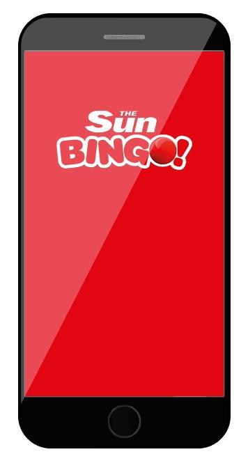 Sun Bingo - Mobile friendly