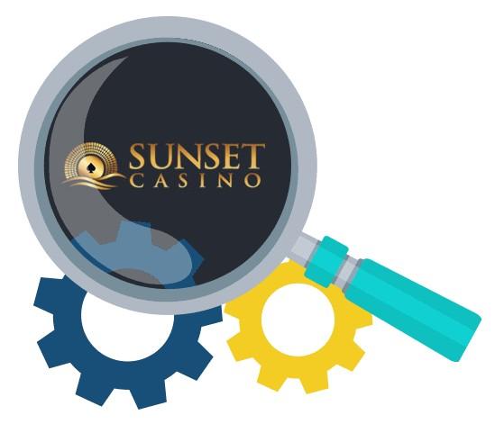 Sunset Casino - Software