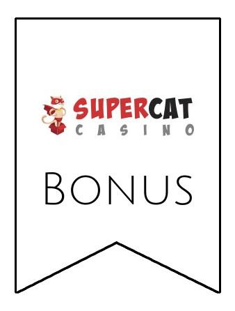Latest bonus spins from SuperCat