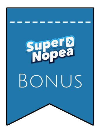 Latest bonus spins from SuperNopea