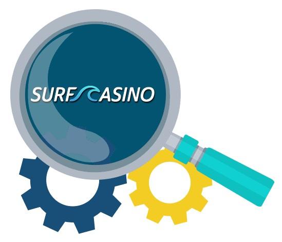 Surf Casino - Software