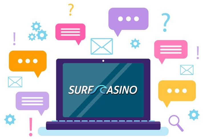 Surf Casino - Support