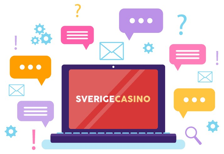 Sverige Casino - Support