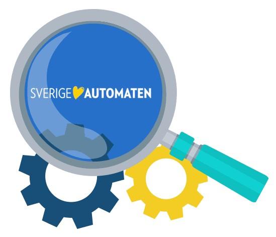 SverigeAutomaten Casino - Software