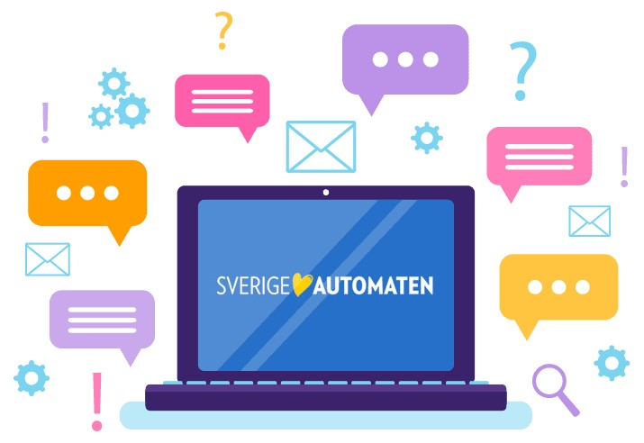SverigeAutomaten Casino - Support