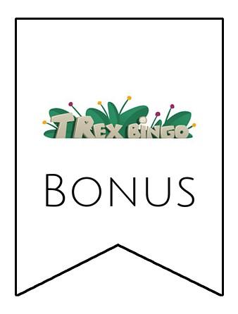 Latest bonus spins from T-Rex Bingo Casino