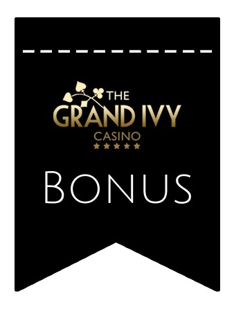 Latest bonus spins from The Grand Ivy Casino