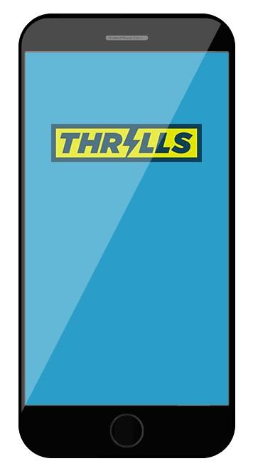 Thrills Casino - Mobile friendly