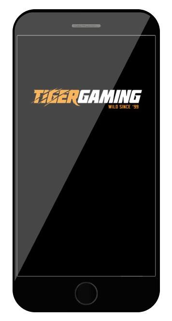 TigerGaming - Mobile friendly