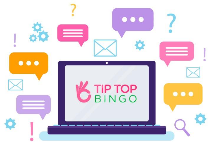 Tip Top Bingo - Support