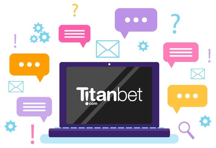 Titanbet Casino - Support