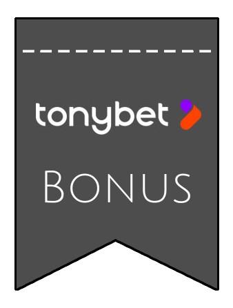 Latest bonus spins from Tony Bet Casino