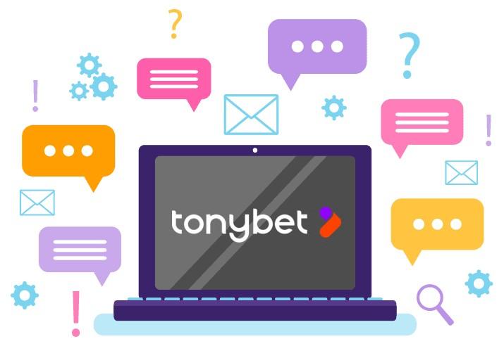 Tony Bet Casino - Support