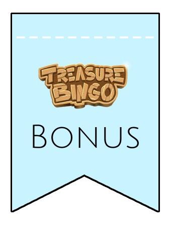 Latest bonus spins from Treasure Bingo