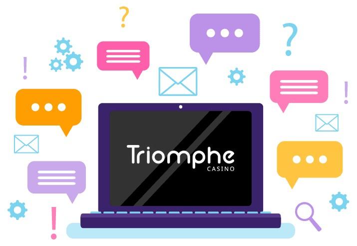 Triomphe Casino - Support