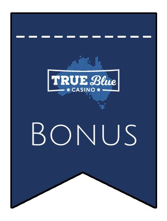 Latest bonus spins from True Blue