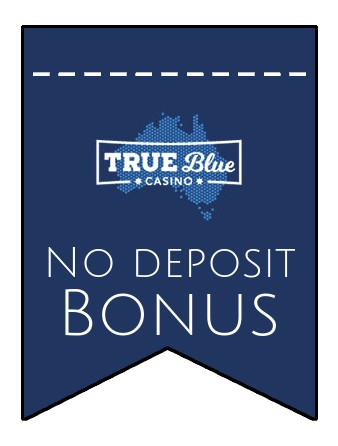 True Blue - no deposit bonus CR