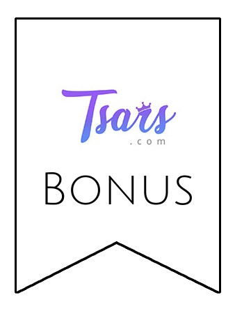 Latest bonus spins from Tsars