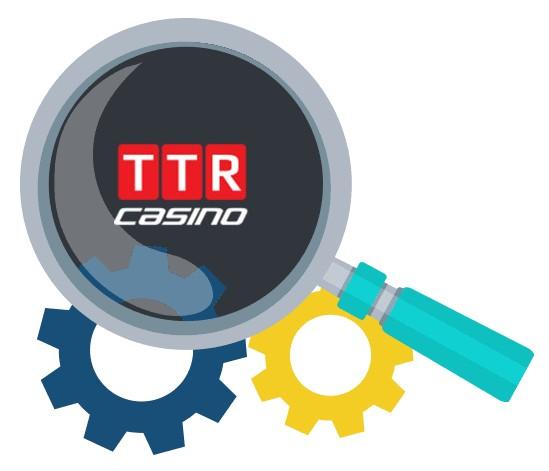 TTR Casino - Software
