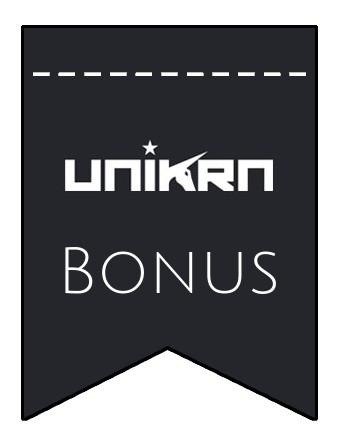 Latest bonus spins from Unikrn