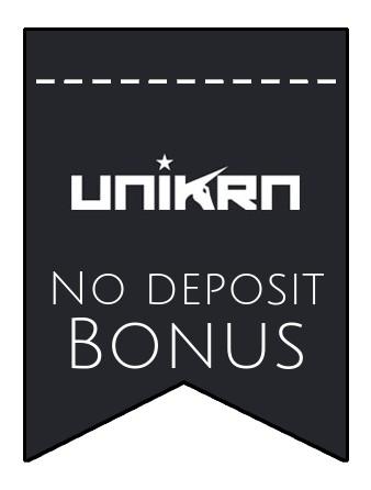 Unikrn - no deposit bonus CR