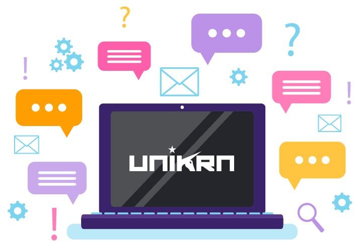 Unikrn - Support