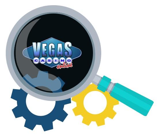 Vegas Casino Online - Software
