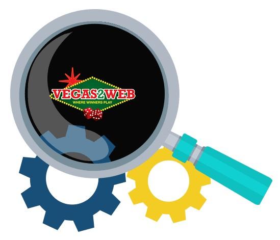 Vegas2Web Casino - Software