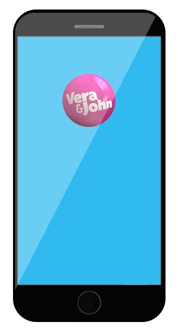 Vera and John Casino - Mobile friendly