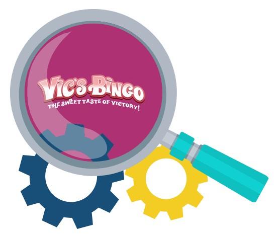 Vics Bingo Casino - Software