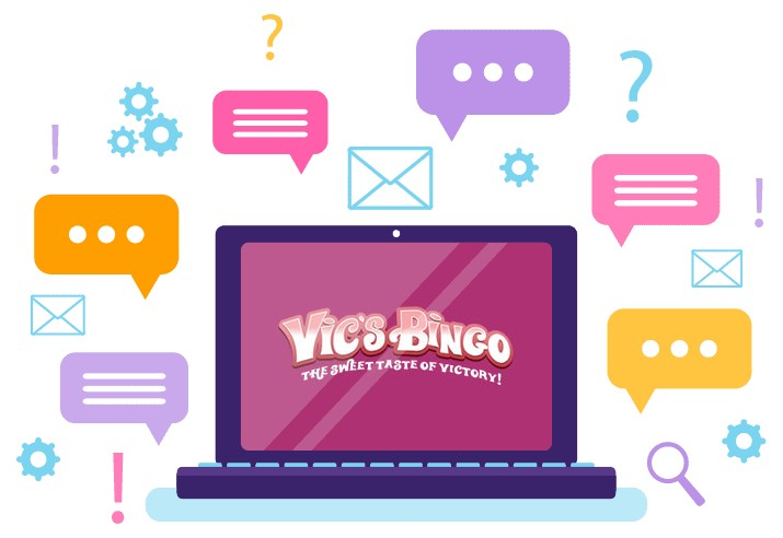 Vics Bingo Casino - Support