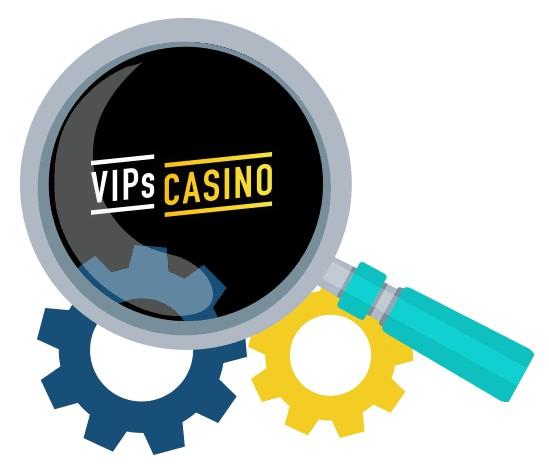 VIPs Casino - Software