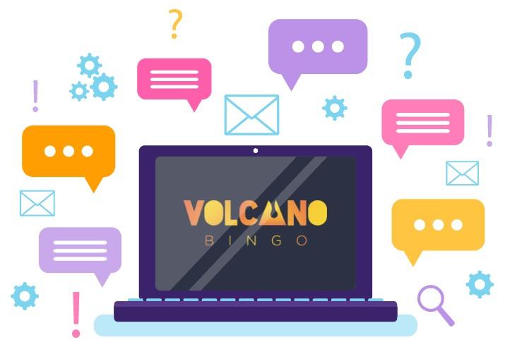 Volcano Bingo - Support