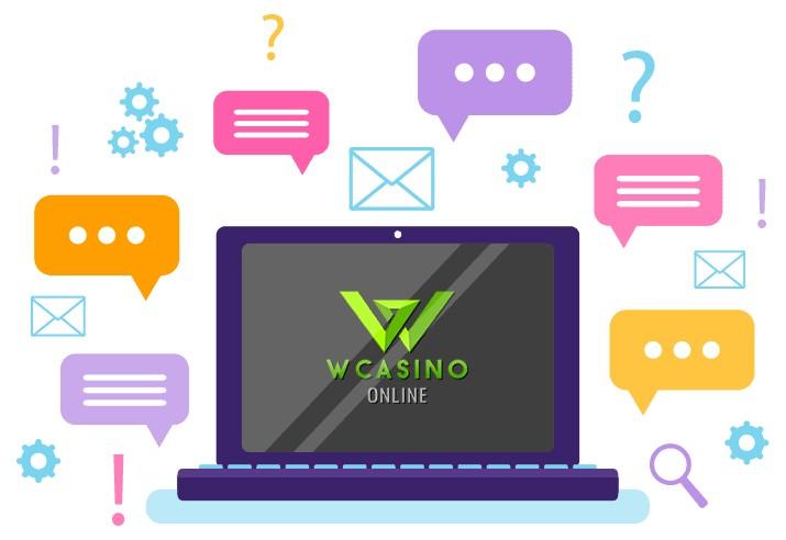 Wcasino - Support