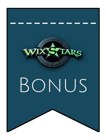Latest bonus spins from Wixstars Casino