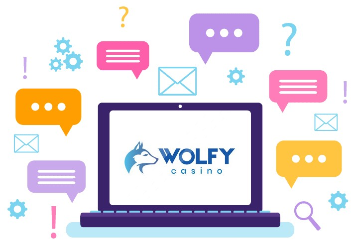 Wolfy Casino - Support