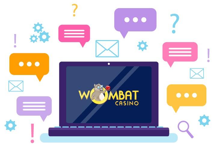 Wombat Casino - Support