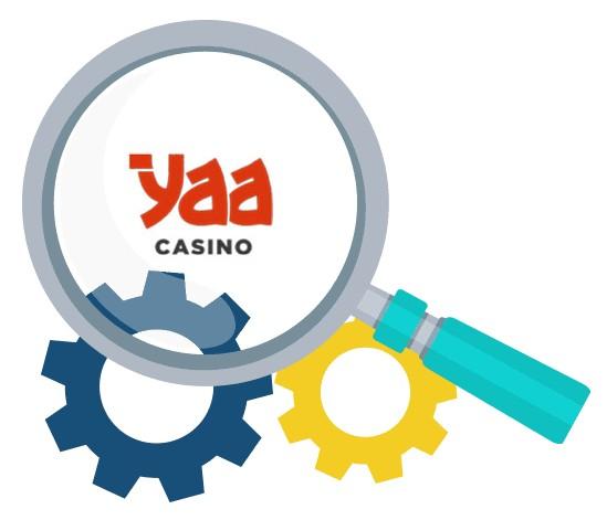 Yaa Casino - Software