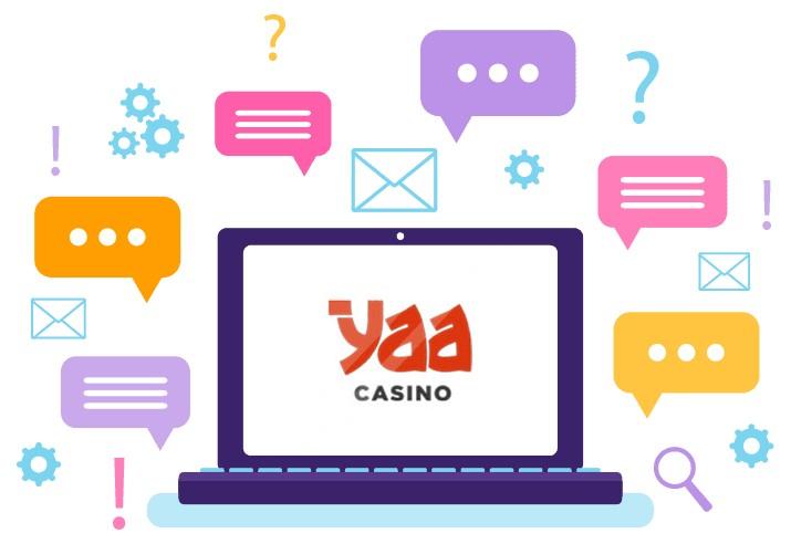 Yaa Casino - Support
