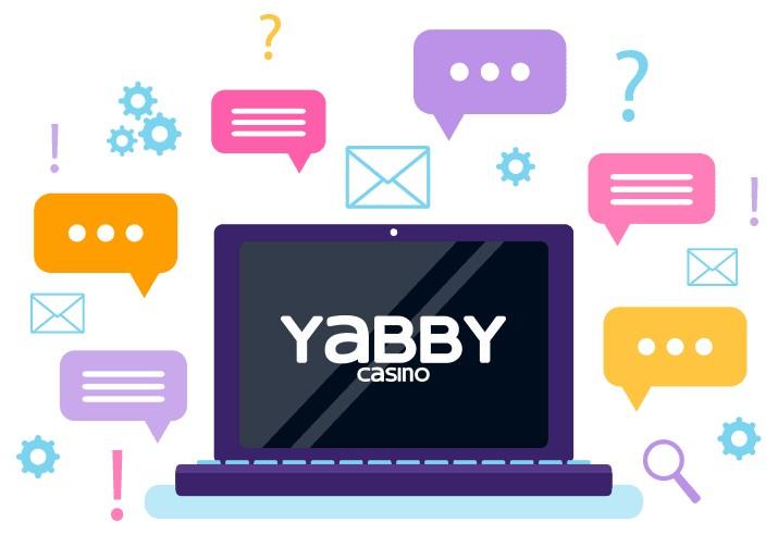 Yabby Casino - Support