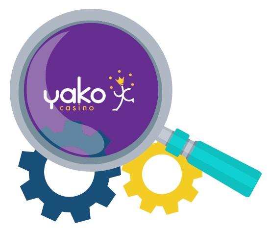 Yako Casino - Software