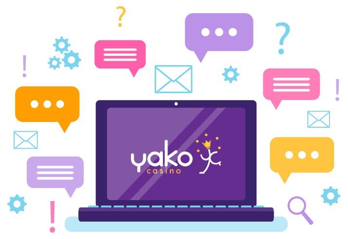 Yako Casino - Support