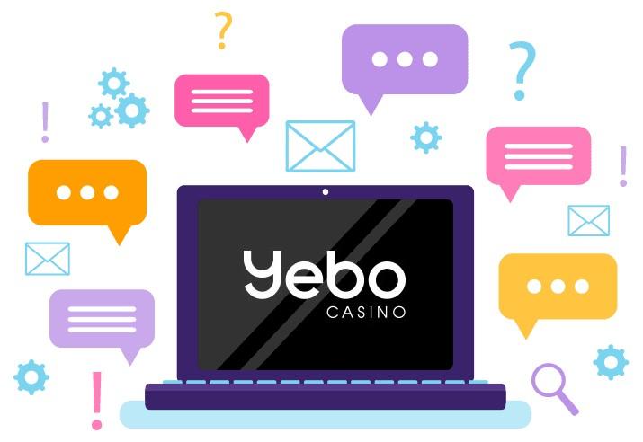 Yebo Casino - Support