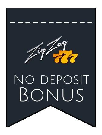 ZigZag777 Casino - no deposit bonus CR