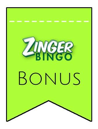 Latest bonus spins from Zinger Bingo Casino